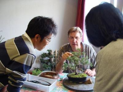 1er cours  de la premi�re classe Acadmemy Bonsai 13-14-15 octobre 2011 (12).JPG