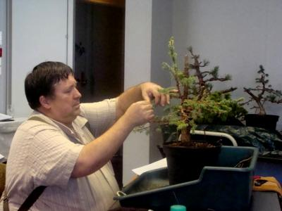 1er cours  de la premi�re classe Acadmemy Bonsai 13-14-15 octobre 2011 (54).JPG