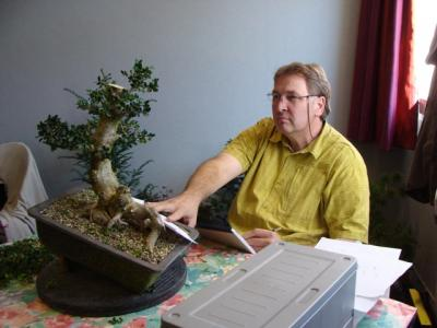 1er cours  de la premi�re classe Acadmemy Bonsai 13-14-15 octobre 2011 (27).JPG