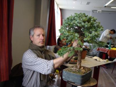 1er cours  de la premi�re classe Acadmemy Bonsai 13-14-15 octobre 2011 (20).JPG